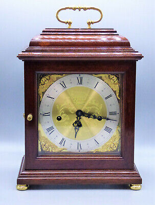 Comitti of London Mantel Carriage Clock Franz Hermle Movement Westminster Chimes
