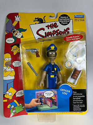 "The Simpsons Playmates Series 7 ""Officer Lou"" Figure New"