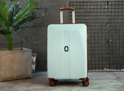 D42 Blue Universal Wheel Coded Lock Travel Suitcase Luggage 26 Inches W