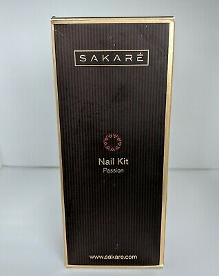 Passion Nail Kit by SAKARE inc. File, Buffer, Hand and Body Lotion, Cuticle Oil