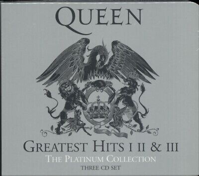 QUEEN Greatest Hits 1 2 & 3 - The Platinum Collection CD *NEW & SEALED