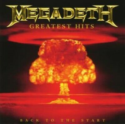 MEGADETH Greatest Hits - Back To The Start CD *NEW & SEALED*