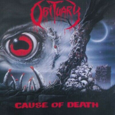 OBITUARY Cause Of Death CD *NEW & SEALED*