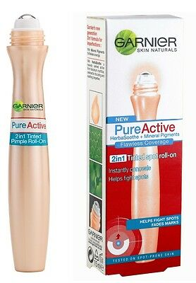 Garnier Pure Active Tinted Spot Roll-On - 03 - Normal Skin - Euro Packing