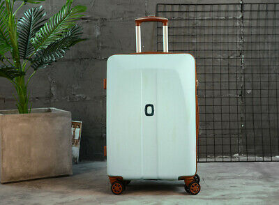D40 Blue Universal Wheel Coded Lock Travel Suitcase Luggage 24 Inches W