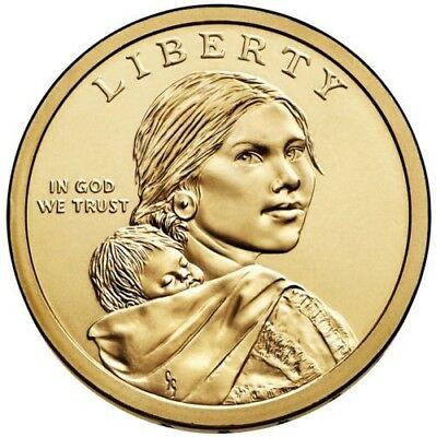 2019-P Sacagawea Native American Dollar US Mint Coin BU PRICE LISTED IS PER COIN