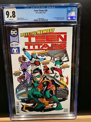 Dc Teen Titans Special #20 Cgc 9.8 Rare First Full Appearance Of Crush Sold Out