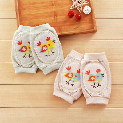 Safety Crawling Knee Elbow Pads Infant Toddler Baby Anti-Slip Leg Protector shan