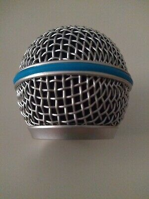 P SHURE A58WS YELLOW BETA 58A SM48 ANTIVENTO PER SM58 PG48