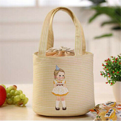 Thickened Insulated Thermal Cooler Lunch Box Carry Tote Picnic Case Storage Bag