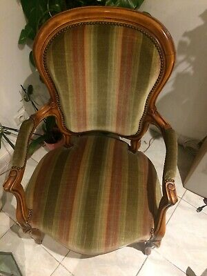 fauteuil Voltaire style Louis Philippe
