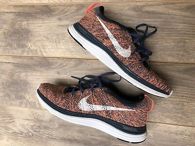 outlet store 6e940 6f058 Nike Flyknit Lunar1 Wedge Running Training Sneakers Shoes Women s US 7🔥