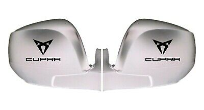For SEAT -  CUPRA LOGO - 2 x Wing Mirror Vinyl Decals Stickers Adhesive Graphic