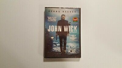 John Wick (DVD, 2015) New