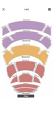 (4) Tickets To Amos Lee on 3/17/2019 At The Cobb Energy Center - Atlanta