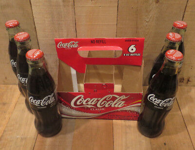 2003 Coca-Cola Coke Bottles Set of 6 Unopened Kinnick Stadium University of Iowa