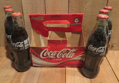 2003 Coca-Cola Coke Bottles Set of 6 Unopened Lewis and Clark Bicentennial IGA