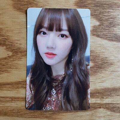 Yerin Official Photocard GFriend Time For Us 2nd Album Limited Edition Genuine