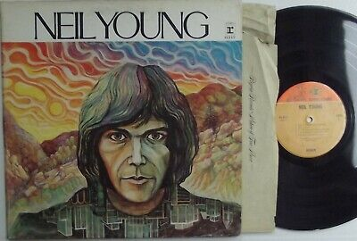 NEIL YOUNG self titled 1969 LP VG+