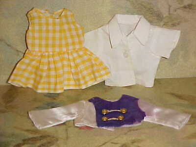 1950's Doll Clothes ~ Blouse ~ Dress & Majorette Jacket ~ TLC