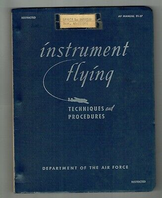 instrument flying manual