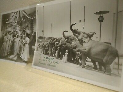 Extremely Rare Clarence Sevemen Wedding And Circus Signed Photos Wizard Of Oz...