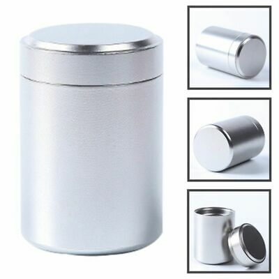 Airtight Smell Proof Container Herb Stash Jar Metal Sealed Can Tea Jar Design