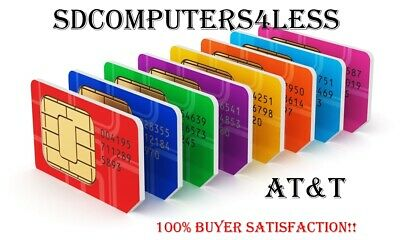 AT&T Prepaid Numbers To / For Port  | Bundle of 20 | FASTEST DELIVERY