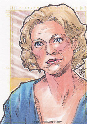 2017 Women Of Star Trek 50th Sketch Card Nurse Chapel