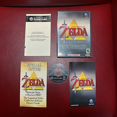 The Legend of Zelda: Collector's Edition / Nintendo GameCube / Complete CIB Mint