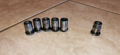 Set Of 6 Lycoming Crank/Propeller Flange Bushings 72067-S And 72066-S