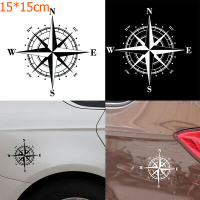 15 x 15cm New Vinyl Art  Design Body Car Sticker NSWE Compass Window Auto Decal