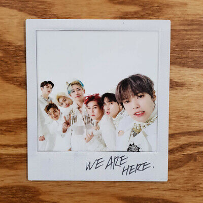 Group Official Polaroid Photocard Monsta X We Are Here The 2nd Album Take.2 Kpop