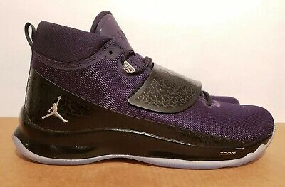 ded9906691efa4 Size 14 Air Jordan Super Fly 5 PO 881571-501 Purple Dynasty Metallic Silver