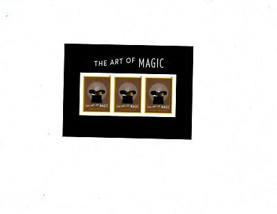 The Art Of Magic  55C Forever Stamp Scott#5306 ,souvenir Sheet Of 3  Mnh  Og