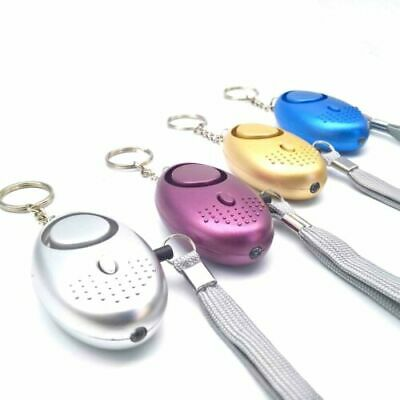 Personal Alarm Keychain 130dB SOS Emergency Self Defense Safety Alarms Lovely