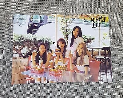 MONTHLY GIRL yyxy LOONA Album [beauty & thebeat] Normal Ver OFFICIAL POSTER NEW