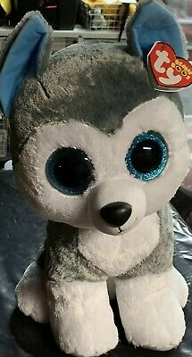 "7fd91148d2d TY BEANIE BOO - Slush The Huskey - Large 16"" NEW MWMT -  20.00 ..."