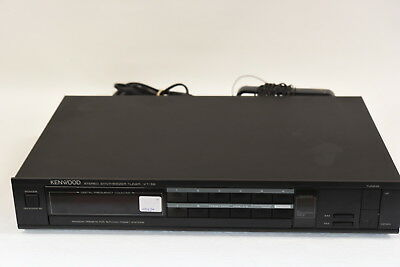 Kenwood KT-56 Stereo Synthesizer Tuner