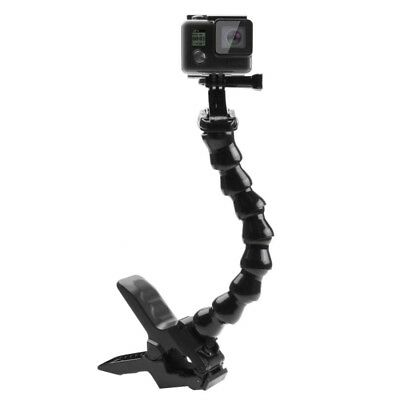 PULUZ Action Sports Cameras Jaws Flex Clamp Mount for GoPro HERO 7 / 6 / 5 / 4