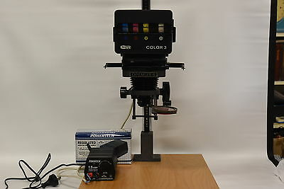Opemus 6 Film Enlarger & Meopta Color 3 Head & Nikon 50mm Lens NO POWER SUPPLY