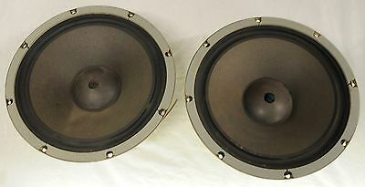 """2x Vintage Coral 12L-25B 12"""" Bass Drivers - 60W 6ohm - Made in Japan (Pair)"""
