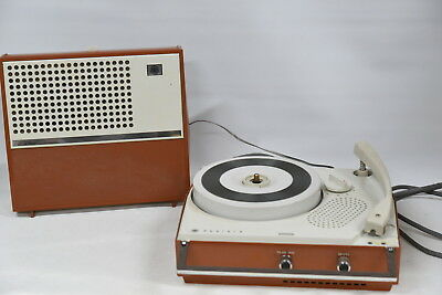 AWA Radiola B56 Portable Electric Record Player - Vintage