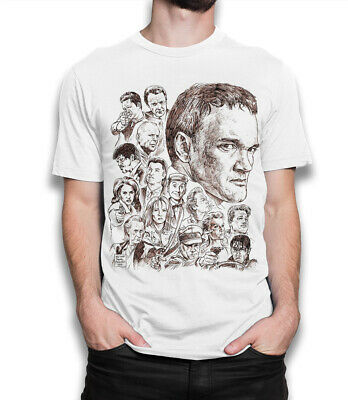 Quentin Tarantino Movies Art T-Shirt, Pulp Fiction Kill Bill Reservoir Dogs Tee