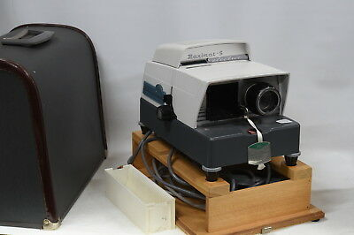 Vintage Braun Paximat-S 35mm Film Manual Slide Projector