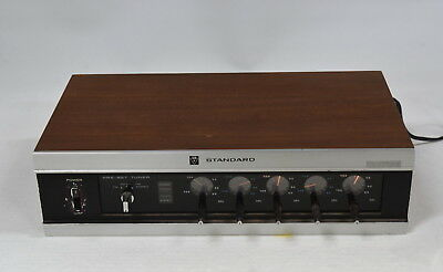 Vintage Standard SR-A200TE FM Tuner - Made in Japan