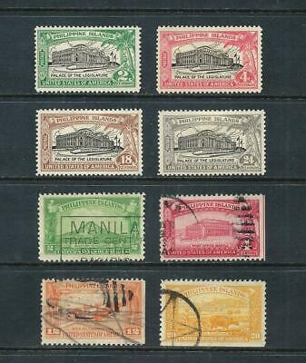 PHILIPPINES _ 1926-32 'EARLY LOT' 8 _ mh-used ____(571)