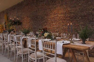 Wedding Garden Table Event Table Banquet Tables 8ft X 2.6ft On Trestles