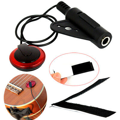 Acoustic Piezo Contact Microphone Pickup for Guitar Ukulele Violin Mandolin