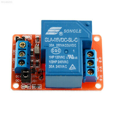 7ACB 5V 30A High 1-Channel Relay Module with Level for Arduino DSP SLA-5VDC-SL-A